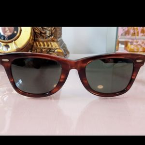 Authentic vintage 1970s-1980s Ray Ban sunglasses